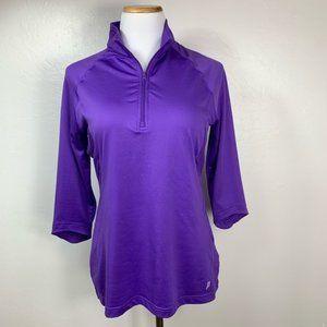 Prince Tennis 1/4 Zip Jacket Top Golf Athleasure